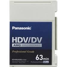 hdv cassette panasonic ay hdvm63amq mini hdv dv dvcam compatible ay hdvm63amq