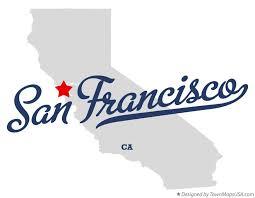 san francisco map california map of san francisco ca california