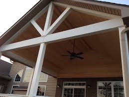 Clear Patio Roofing Materials by Open Covered Porches Dayton U0026 Cincinnati Deck Porch And