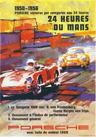 porsche racing poster porsche le mans 24 hours 1950 1956 u2026 pinteres u2026