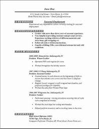 professional resume samples free gallery of seasonal employment resume occupational examples