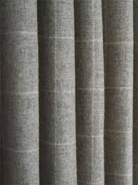 Wool Curtains Fibre Naturelle Jura Wool Fabric Collection Green Grey Fabric