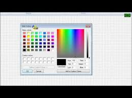 how to select rgb color value for arduino code using paint youtube