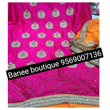 can be made on any color combination to banee punjabi suits