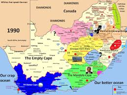 south africa stereotype map vivid maps