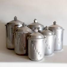 vintage kitchen canisters sets vintage canister set mid century kitchen canister set white