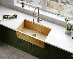 is an apron sink the same as a farmhouse sink 895 single bowl bamboo apron sink