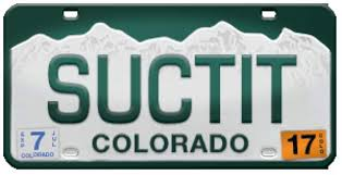 Banned Vanity Plates Colorado Has List Of Banned License Plates And Some Are Head