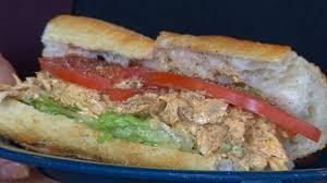 dinosaur bar b que serves up a chicken sandwich abc news