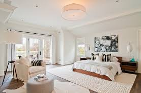 Armchair In Bedroom White Cow Rug With Black And White Cow Hide Rug Bedroom