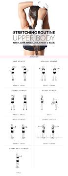 exercises neck arm shoulder chest and