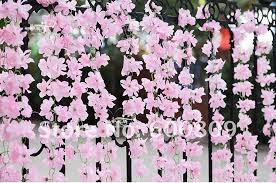 options beautiful vine hanging bush plant artificial flower