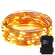 battery operated led string lights waterproof er chen tm indoor and outdoor waterproof battery operated 100 led