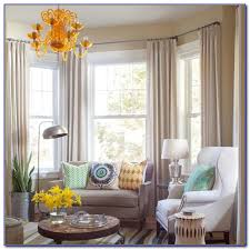 Drapes Ideas Bay Window Curtain Ideas For Bedroom Curtain Home Decorating
