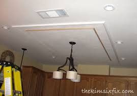 Fluorescent Ceiling Light Replacing Updating Fluorescent Ceiling Box Lights With Ceiling