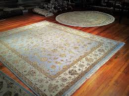 Round Flower Rug by Brandon Oriental Rugs
