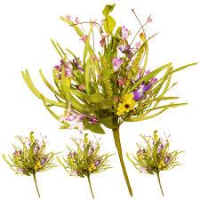 national tree company 20 in purple flower pick set of 4 ras
