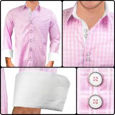 pink with white dress shirts