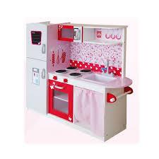 cuisine en bois enfants grande cuisine en bois avec réfrigérateur