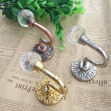 gold curtain tie backs glass glamorous gold curtain tie backs