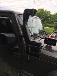 jeep snorkel install rugged ridge 17756 21 modular xhd snorkel kit for 07 17 jeep