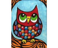 Artwork For Kids Room by Items Similar To Owl Print Funny Owl Art Kids Wall Art Art For