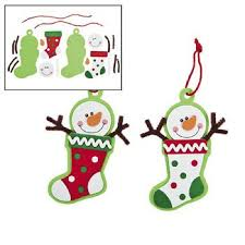 12 snowman ornament craft kit crafts for