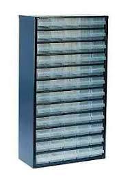 The Range Filing Cabinet Raaco Professional Range 60 X Drawer Storage Cabinet 137386 Ebay