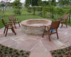 Patio Fire Pit Ideas Captivating Fire Pits Design Ideas For Backyard Patio With Wooden
