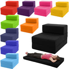 Folding Foam Chair Bed Fold Up Single Sofa Bed Thecreativescientist