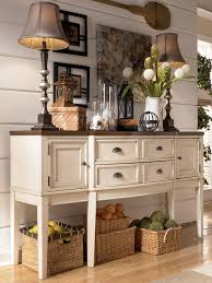 whitesburg two tone breakfront dining room server by signature