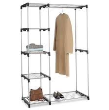Shelving Units For Closet Ideas Intriguing Portable Closet Lowes For Your Closet Ideas
