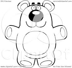 teddy bear outline coloring page alltoys for