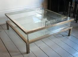 Glass Top Square Coffee Table Large Low Square Coffee Table Large Square Coffee Table Glass Top