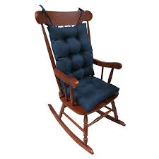 xl rocking chair cushion set with gripper bottom home furniture