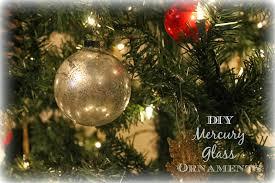 wonderfully made diy mercury glass ornaments