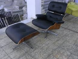 the mod spot eames lounge chair with metal finish frame new