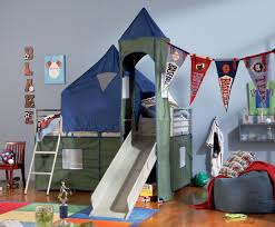 Boys Bed Canopy Camelot Boy S Tent Bunk Bed