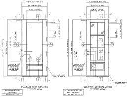 standard height of interior door image collections glass door