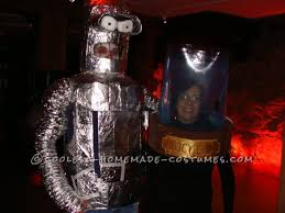 Bender Halloween Costume Awesome Bender Head Lucy Liu Halloween Couple Costume