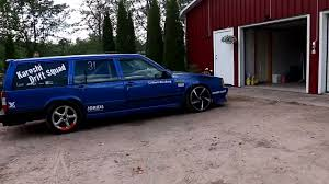 blue volvo station wagon volvo 740 wagon with a turbo b230 inline four my car pinterest