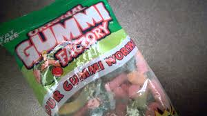 gummy factory report spoiled bag of sour gummi worms from the original