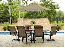 Fred Meyer Outdoor Furniture by Garden Oasis Harrison 7 Piece Dining Set Only 266 84
