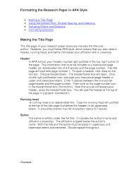 how do i write a paper in apa format best photos of apa style research paper template research paper research paper apa format example