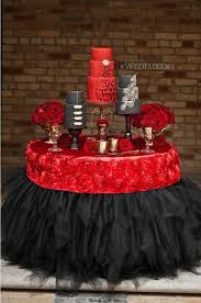 Red And Black Wedding Colour Themes Please Plan My Wedding