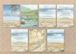 Destination Wedding Itinerary Destination Wedding Passport Booklet Invitations By I Do With You