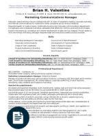Chief Marketing Officer Resume Advertising Sales Manager Resume Sample Sales Advertising