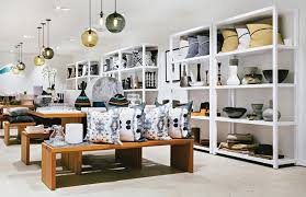 home interior shop 4 retail stores with modern pendant lighting clusters