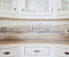 Wallpaper For Backsplash In Kitchen Vinyl Wallpaper Kitchen Backsplash Kitchen Ideas