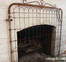 Fireplace Metal Screen by Best 25 Farmhouse Fireplace Screens Ideas Only On Pinterest